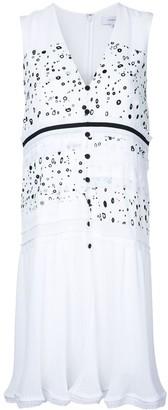 Carven dot print sleeveless dress