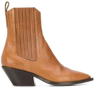 A.F.Vandevorst cuban heel ankle boots