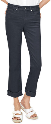 NYDJ Marilyn Straight-Leg Ankle Jeans w/ Clean Cuffs