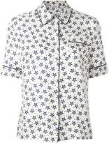 P.A.R.O.S.H. star print shirt - women - Silk - XS