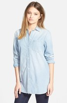 Madewell Women's Ex-Boyfriend - Buckley Wash Chambray Shirt
