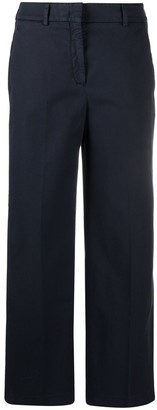 Incotex High-Rise Pleat-Detail Chinos