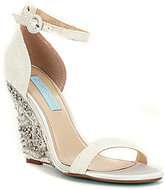 Betsey Johnson Blue by Alisa Wedge Sandals