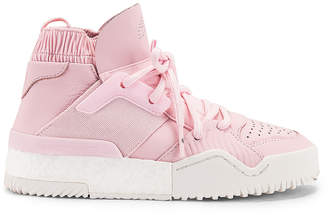 Alexander Wang Adidas By adidas by B Ball Sneaker in Clear Pink & Core White | FWRD