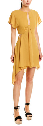 BCBGMAXAZRIA Twist A-Line Dress