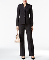 Le Suit Plaid Pantsuit