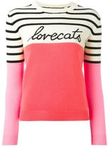 Chinti and Parker 'LoveCats' jumper