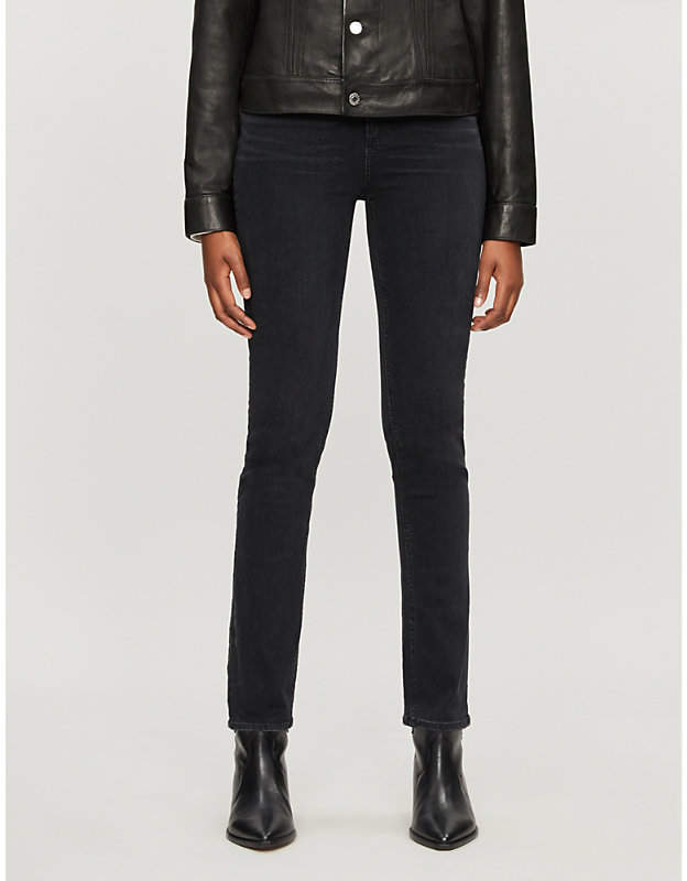 Paige Sarah straight high-rise jeans