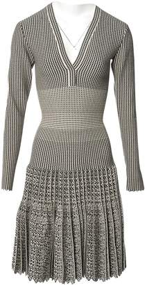 Alaia Beige Wool Dresses