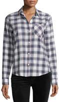 Current/Elliott The Slim Boy Shirt, Burnside Plaid