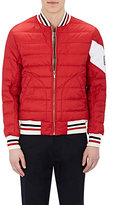 Moncler Gamme Bleu Men's Down-Quilted Nylon Bomber Jacket