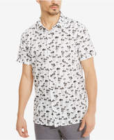 Kenneth Cole Reaction Men's Cotton Palm Tree Shirt