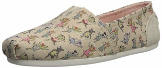 Skechers BOBS Women's Bobs Plush-Prima Pup Slip on Ballet Flat