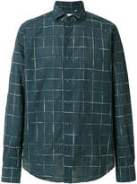 Xacus checkered print shirt