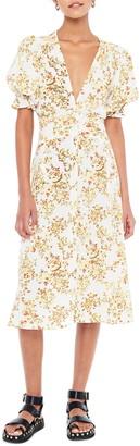 Faithfull The Brand Rafa Floral Midi Dress