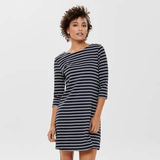 Only Short Shift Dress with 3/4 Length Sleeves