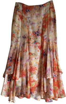 Nicole Farhi Multicolour Silk Skirt for Women