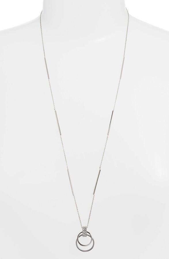 93f147761a Open Circle Pendant Necklace - ShopStyle