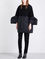 Rick Owens Medusa oversized wool-blend coat