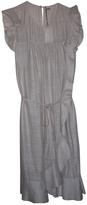 Isabel Marant Ecru Silk Dress