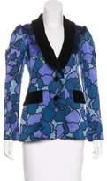 Marc Jacobs Silk Printed Blazer