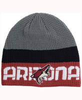 Reebok Arizona Coyotes Player Knit Hat
