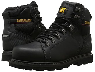 Caterpillar Alaska 2.0 Steel Toe (Black) Men's Work Boots