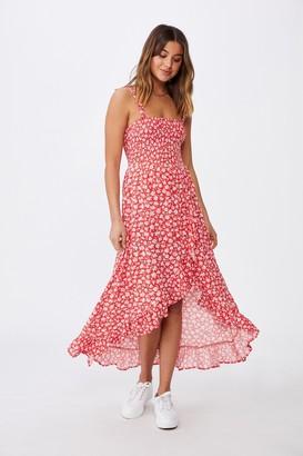Supre Allegra Maxi Wrap Dress