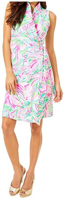 Lilly Pulitzer Romee Wrap Dress (Multi Croc My World) Women's Dress