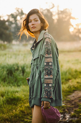 Free People Movement She Fly Jacket By Free People Movement in Green Size XS