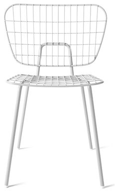 Menu WM String Dining Chair Color: White