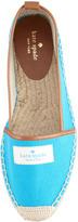 Kate Spade Lara Logo Espadrille Flat, Turquoise