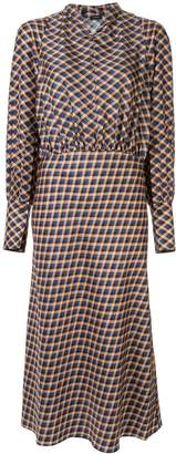 Joseph gingham midi shirt dress
