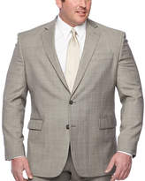 STAFFORD Stafford Checked Classic Fit Suit Jacket-Big and Tall