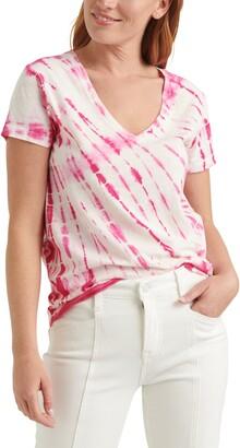 Lucky Brand Essential Tie Dye V-Neck T-Shirt