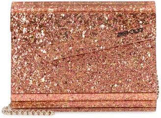Jimmy Choo Candy Glitter Acrylic Box Clutch