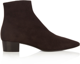 The Row Ambra suede boots