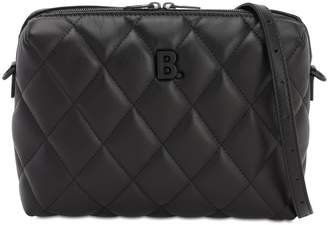 Balenciaga B QUILTED LEATHER CAMERA BAG