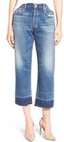 Citizens of Humanity Women's Cora High Waist Released Hem Boyfriend Jeans