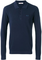 Sun 68 longsleeved polo shirt - men - Cotton - S