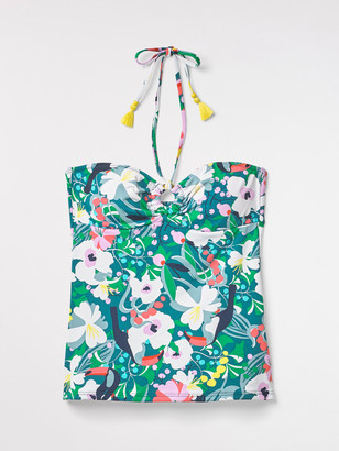 White Stuff Tropical Toucan Tankini Top