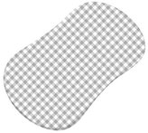 Sheetworld Gingham Jersey Knit Fitted Bassinet Sheet