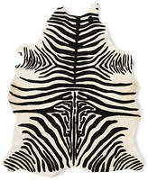 Design Within Reach Edelman Leather Zebra Cowhide Rug