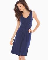 Soma Intimates Twist Sleeveless Short Dress Navy