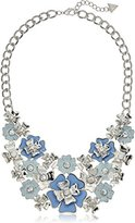 "GUESS Flowers Necklace, 18""+2"" Extender"