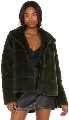 Soia & Kyo Bea Faux Fur Jacket