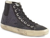 Golden Goose Deluxe Brand Women's V-Star 1 Glitter High Top Sneaker