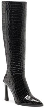 Vince Camuto Women's Pelsna Island Stiletto Boots Women's Shoes