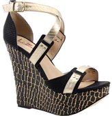 Luichiny Women's Mary Lee Wedge Sandal