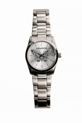 Zadig & Voltaire Watch Butterfly Steel 33 Zv030.